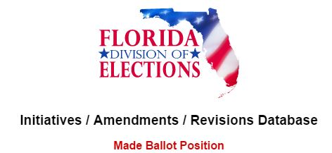 2018 Florida Amendments Link