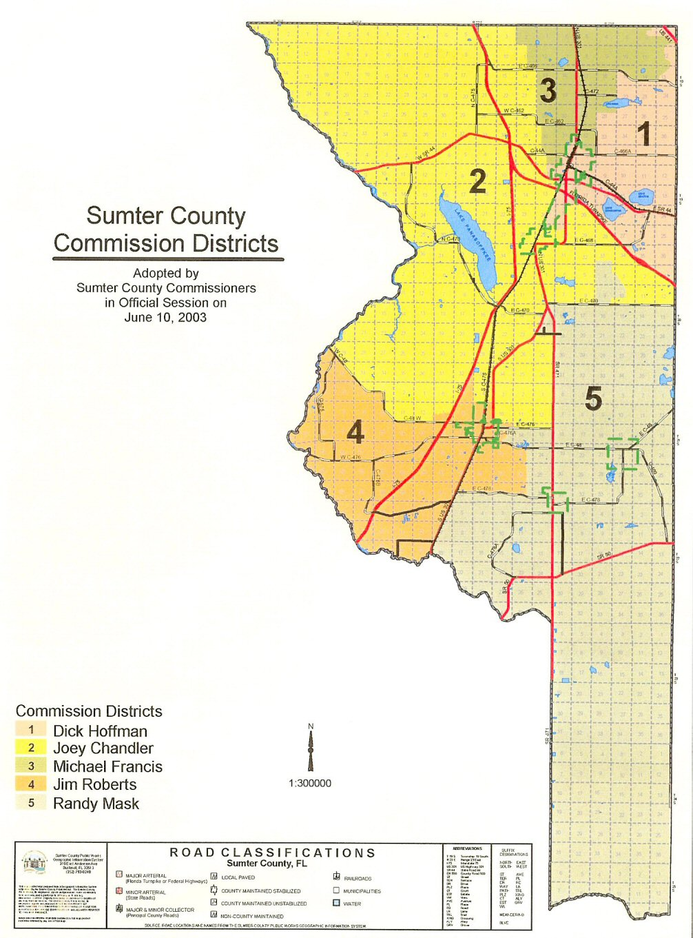 Sumter Co Maps